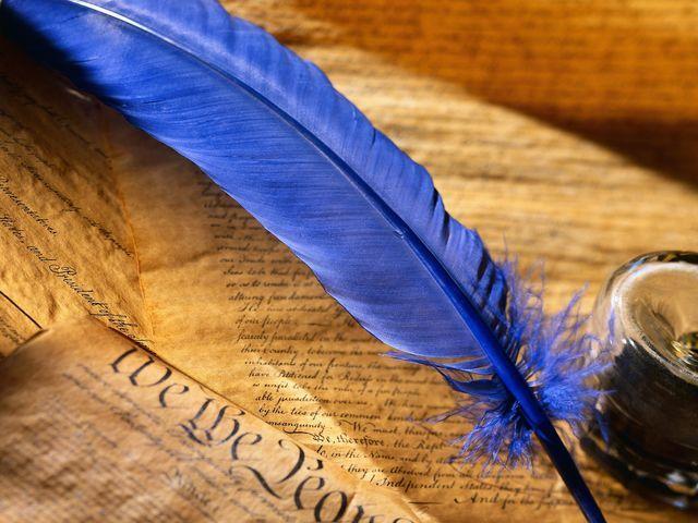 Pluma azul, libros