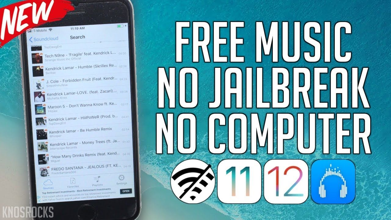 NEW! How To Download Music FREE iOS 12 - 12 1 2 / 11 / 10 No