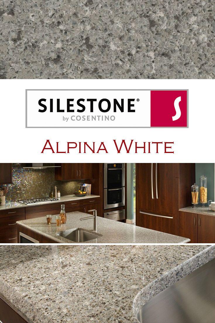 Alpina White By Silestone Is Perfect For A Kitchen Quartz