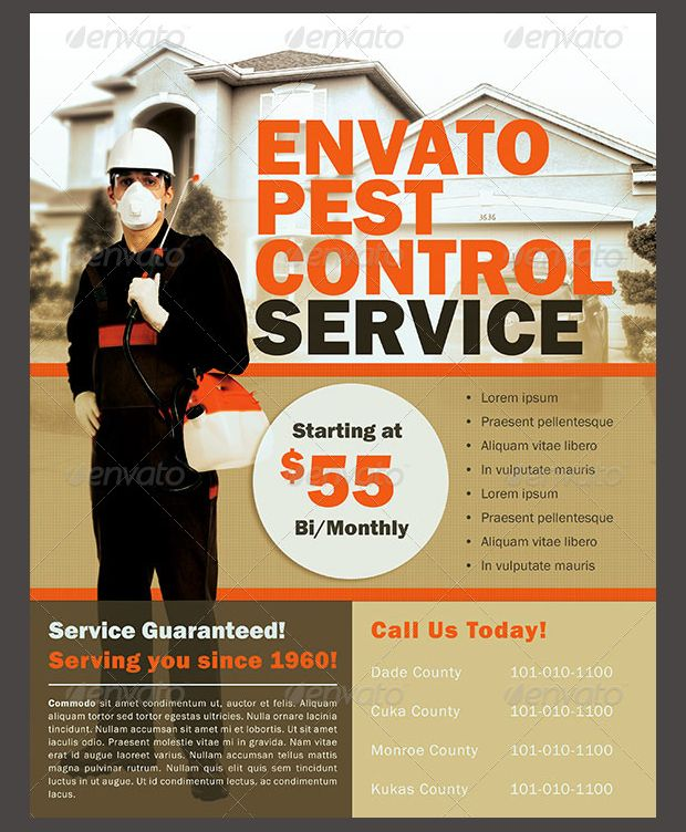 Pest Control Service Flyer Pestcontrolflyer Pest Control Pests Pest Control Services