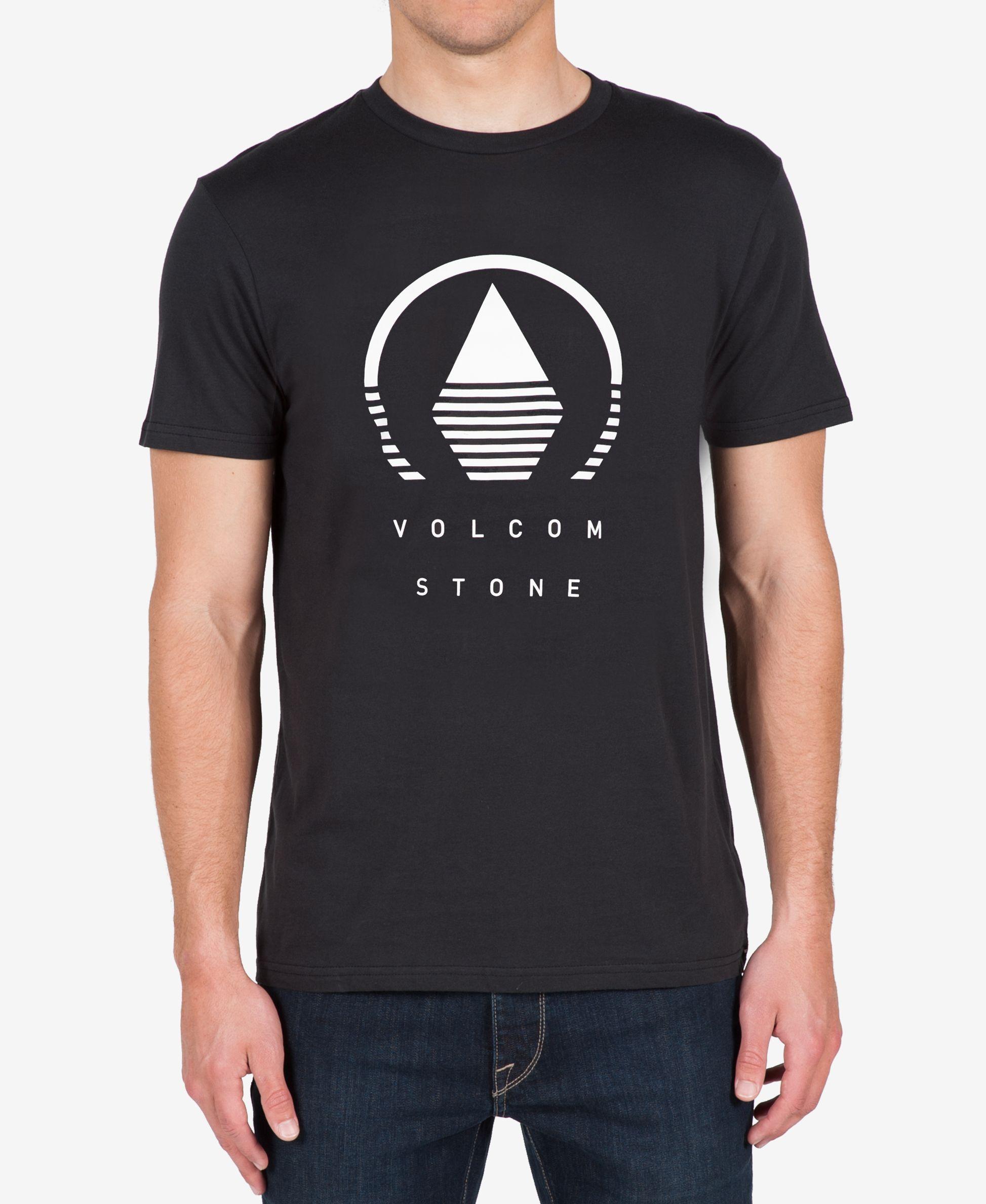 Volcom Men's Horizon Graphic-Print Logo T-Shirt