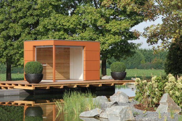 10 sch ne gartenhausideen gartenh user pinterest. Black Bedroom Furniture Sets. Home Design Ideas