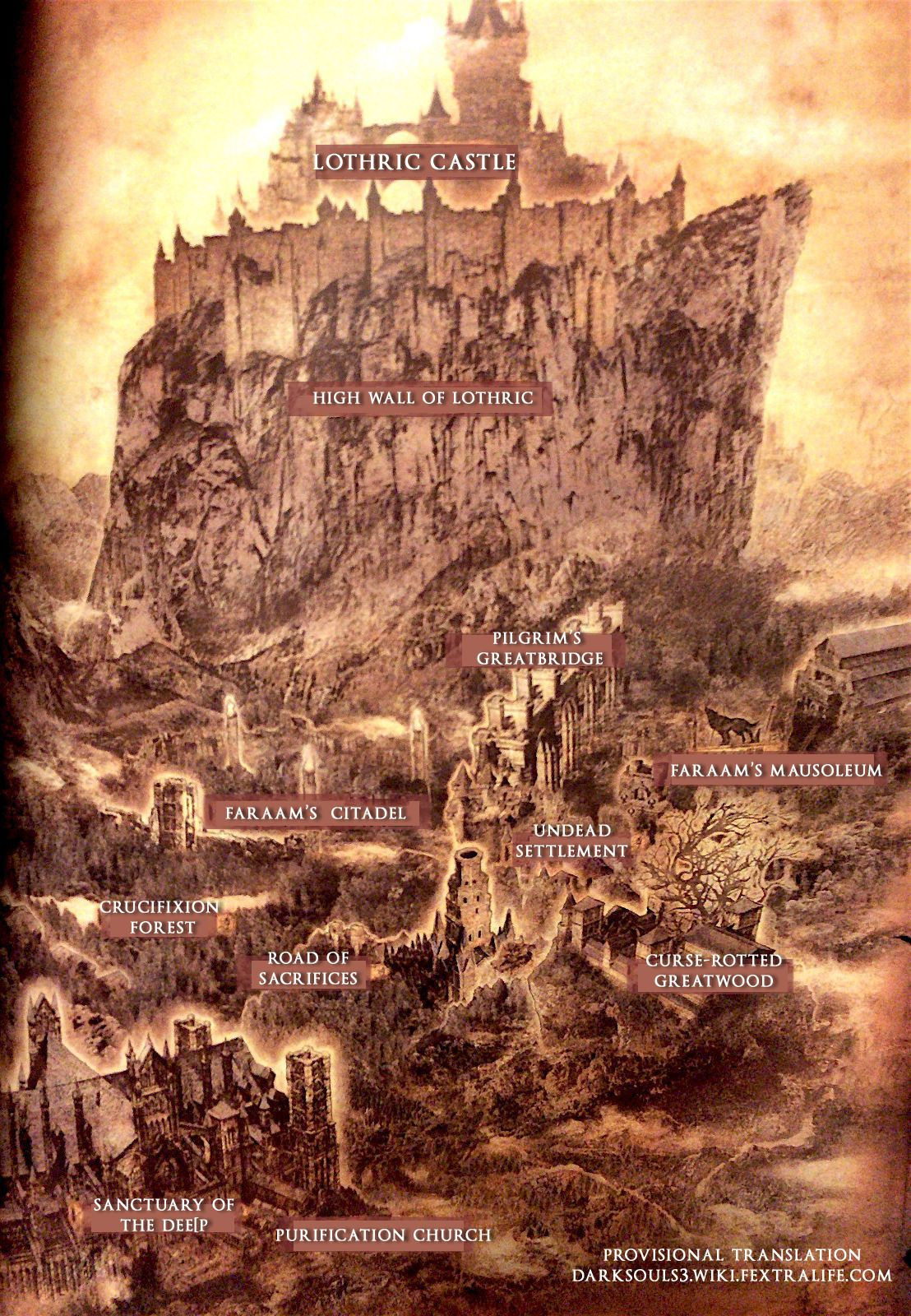 Maps Dark Souls 3 Dark Souls Dark Souls 3 Dark Souls Lore