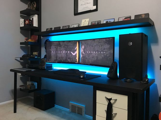 Click To Find Out More Gaming Room Ideas Gaming Room Ideas Pinterest Gaming Room Ideas Pc Gaming Room Ideas 201 Gaming Room Setup Diy Computer Desk Room Setup