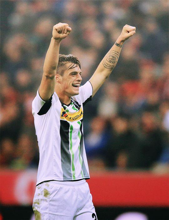 Granit Xhaka Borussia Monchengladbach Swiss National Team Schweizer Nati Vfl Borussia Monchengladbach Vfl Borussia Borussia Monchengladbach