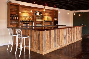 Reclaimed Wood Bar Design Ideas