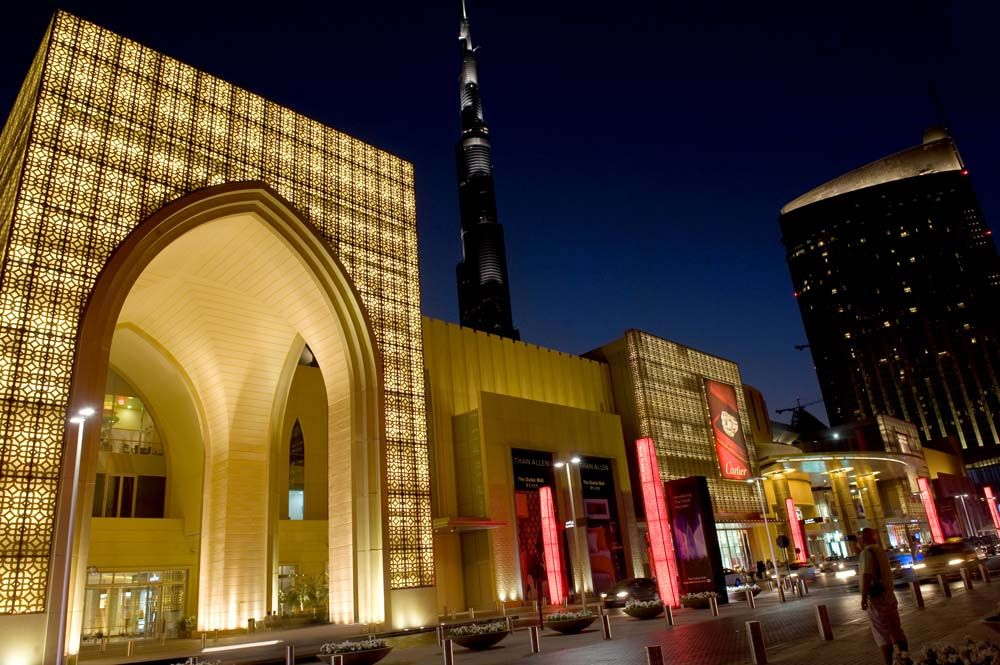 The ultimate shopping destination Dubai Mall. 3 floor H