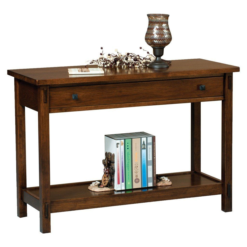 Centennial Sofa Table Sofa Table With Drawers Sofa Table Amish Furniture
