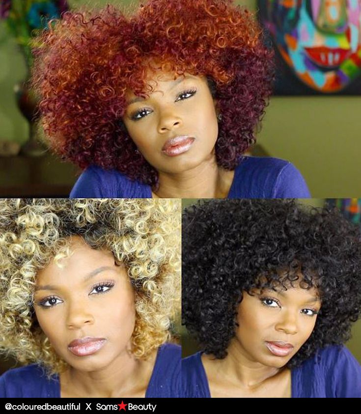 colouredbeautiful on Instagram slays SYNTHETIC HAIR WIG M707 ...