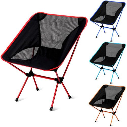 Mini Foldable Chair Beach Seat Stool Seat Outdoor Camping Fishing Picnic BBQ 434b5c7ea8a6