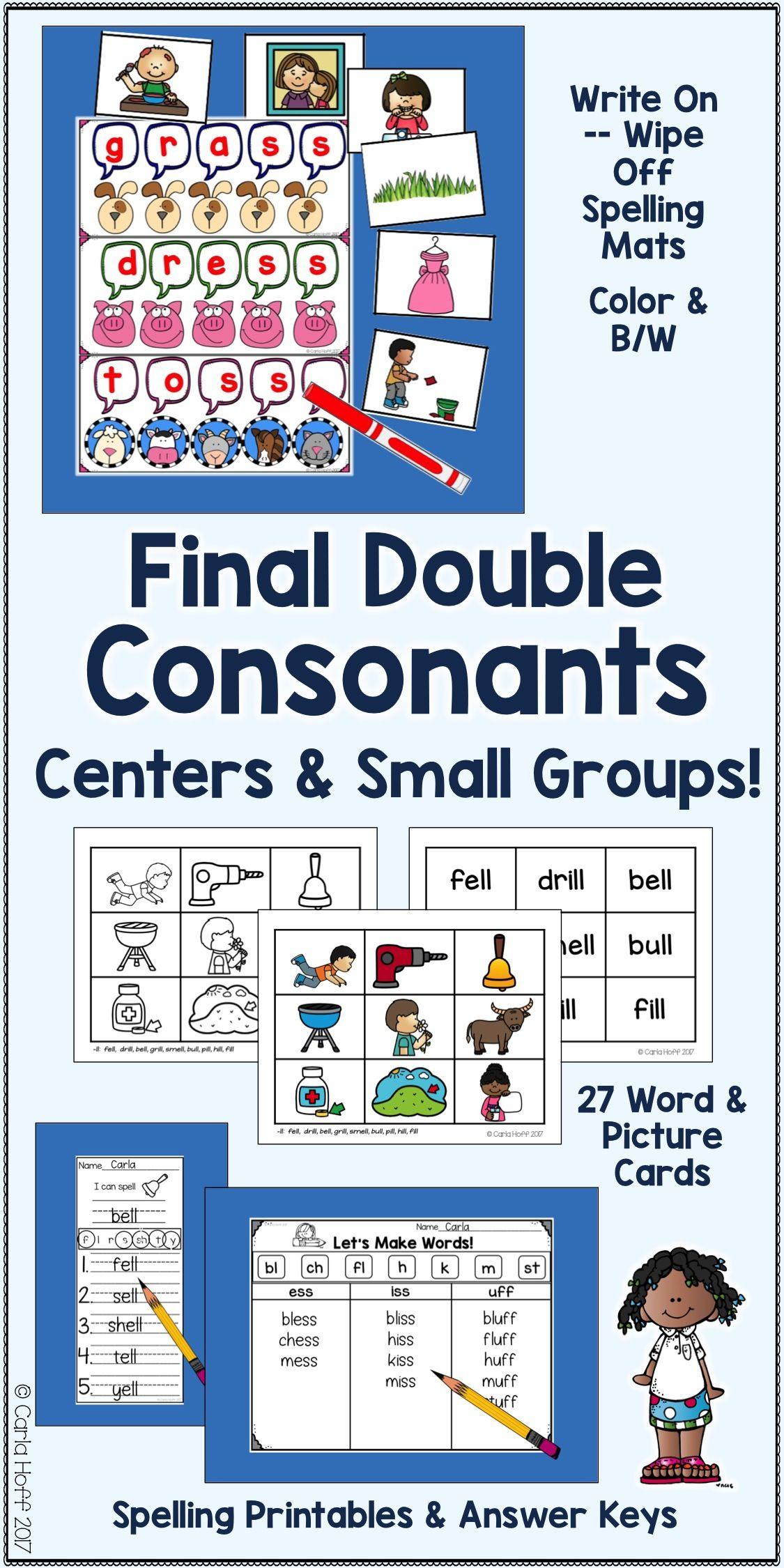 Final Double Consonants