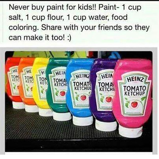 21 easy diy paint recipes your kids will go crazy for arte 21 easy diy paint recipes your kids solutioingenieria Image collections