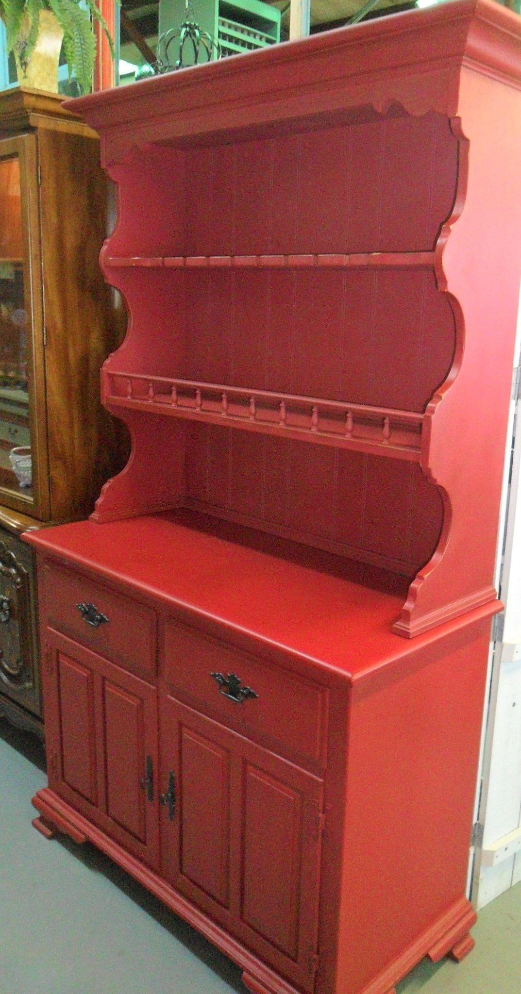 Wise Owl Antique Red Paint Chalk Furniture Upholstery