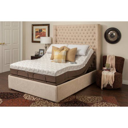 Blissful Nights Dahlia 11 Quot Memory Foam Mattress With M 3000 Adjustable Bed Base Multiple Sizes