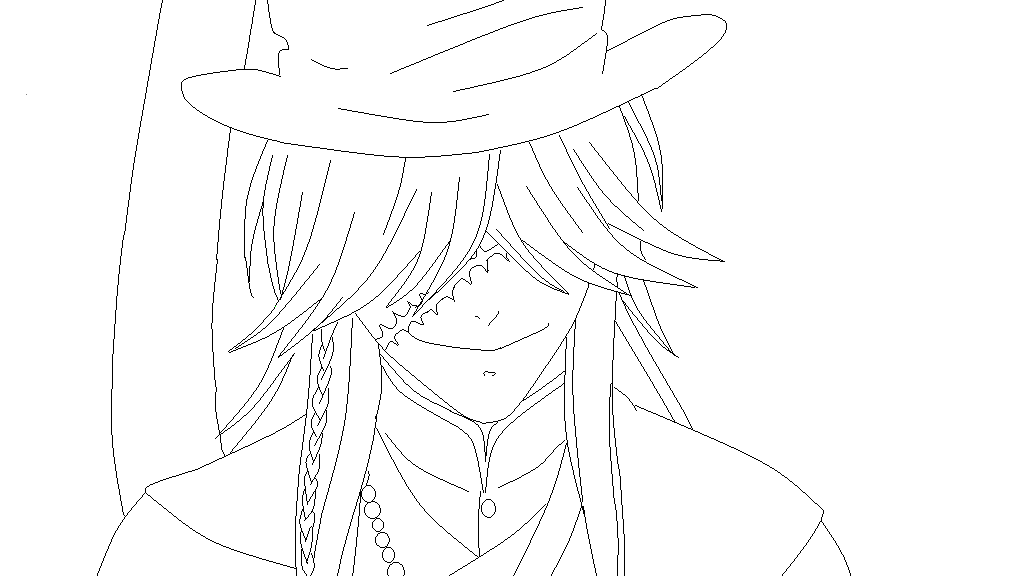 Black Butler Undertaker Coloring Pages Black ButlerKuroshitsuji