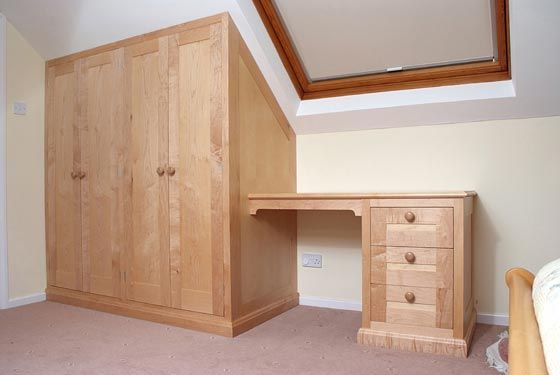 Image Result For Built In Wardrobes With Dressing Table