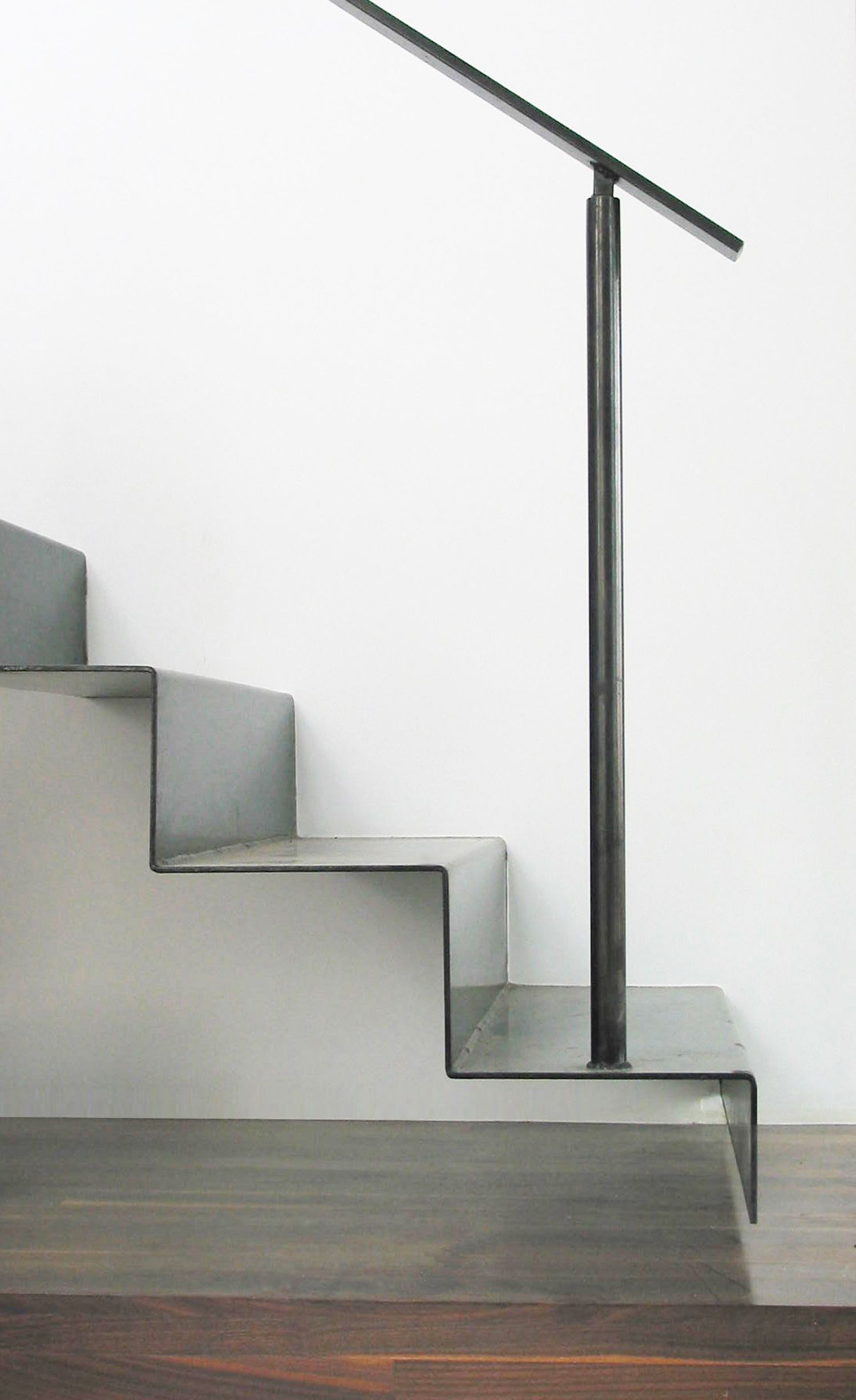 Best Folded Metal Stair Zh Architects Metal Stairs Stairs 400 x 300
