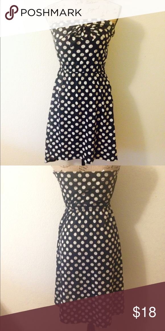 Black And White Polka Dot Dress My Posh Picks Pinterest