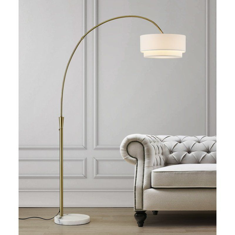 Dina 81 Arched Floor Lamp Arched Floor Lamp Lamps Living Room