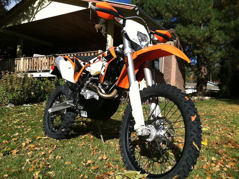 KTM 500 EXC Dual Sport. If this were a 125cc and purple it