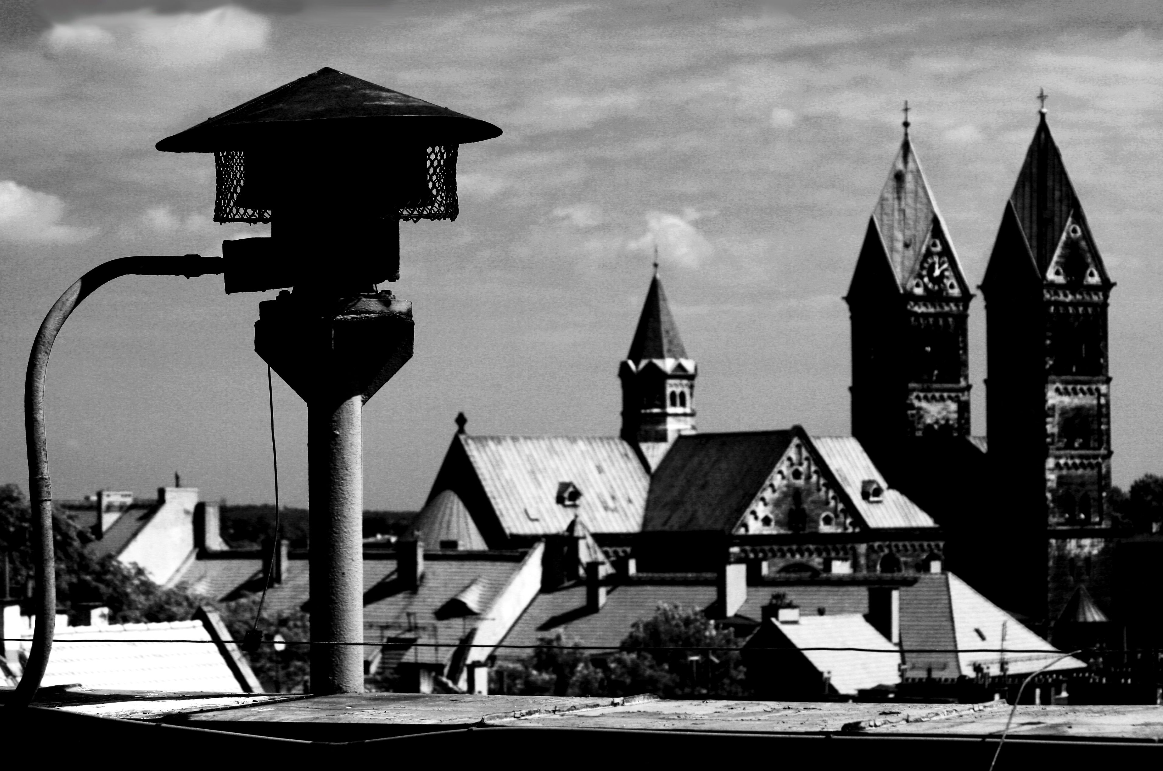 On The Roof Bytom Photo Martin Langer Photo Lamp Post Views
