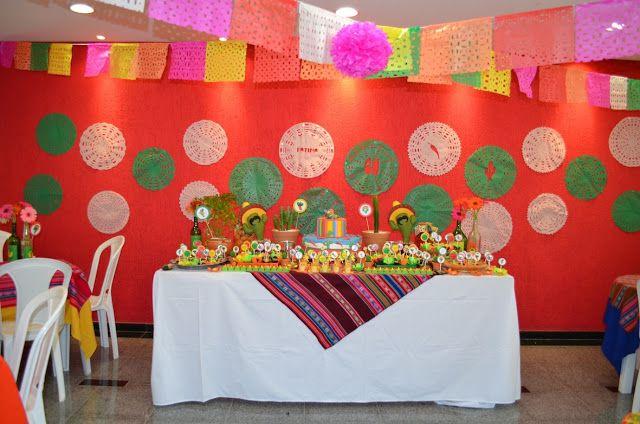Nátali de Mello: Decoração de Festa Mexicana!