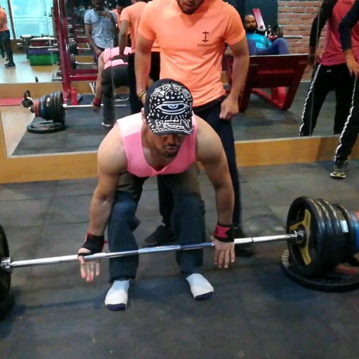 Deadlifts: The most primally satisfying thing you can do with your clothes on plus you look so badas...
