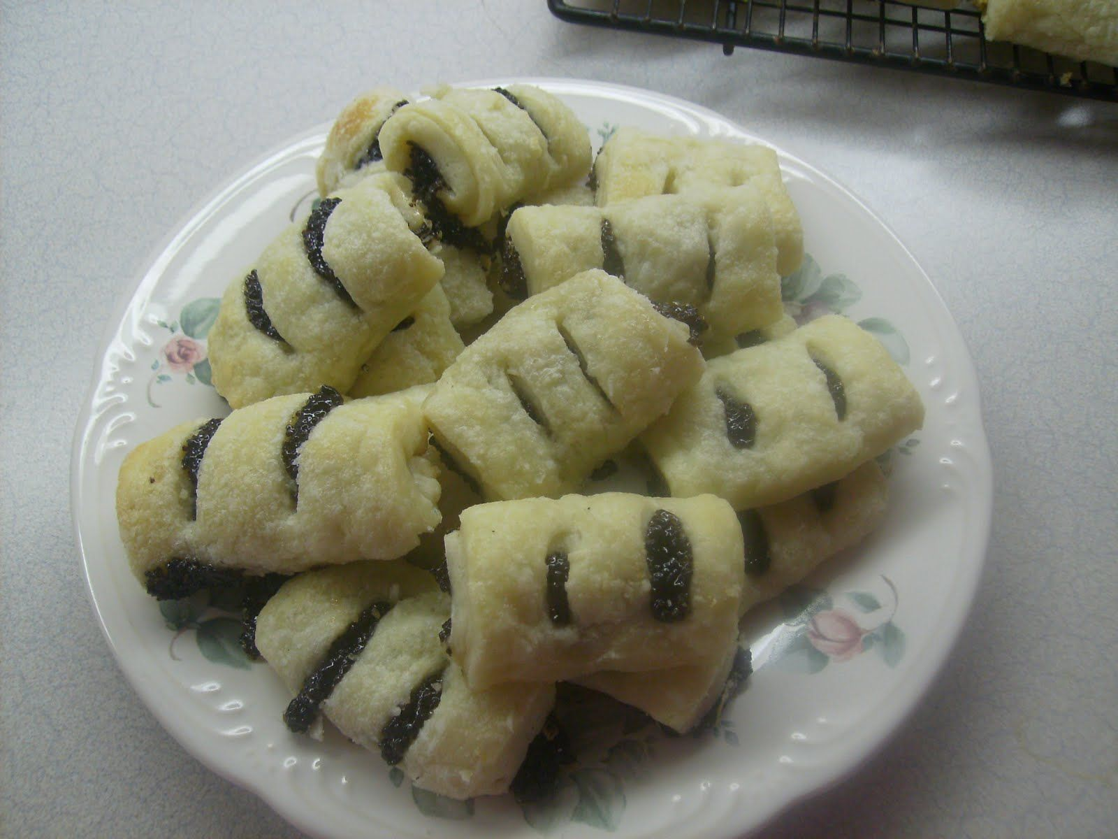 Rosky Filled Slovak Cookie Recipe From My Babi Cookies