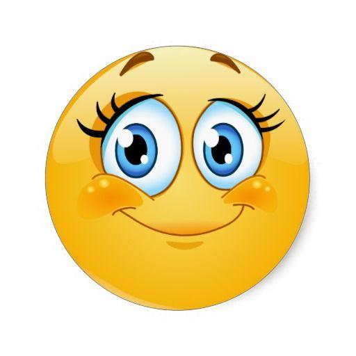 Smiley Face Sticker Happy Smiley Face Love Smiley Funny Emoji Faces