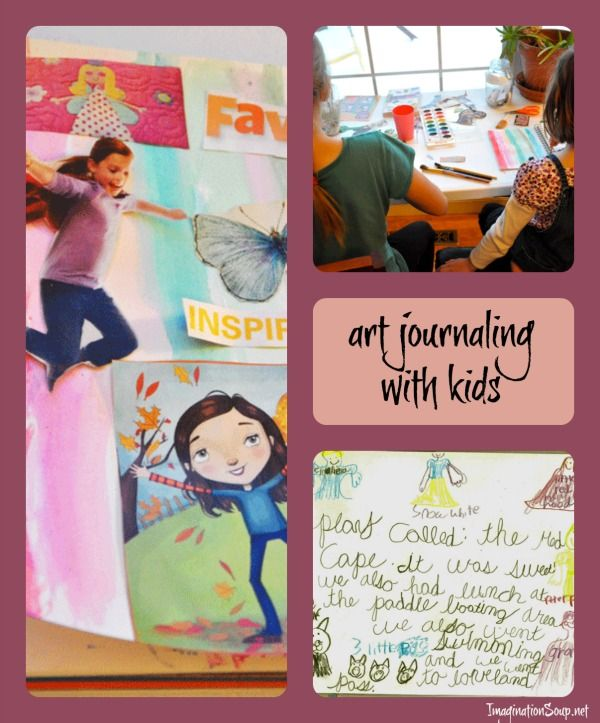 Classroom Journal Ideas ~ Kids and art journaling writing pinterest