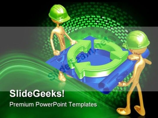 Green construction building people powerpoint templates and check out this amazing template to make your presentations look awesome at toneelgroepblik Choice Image