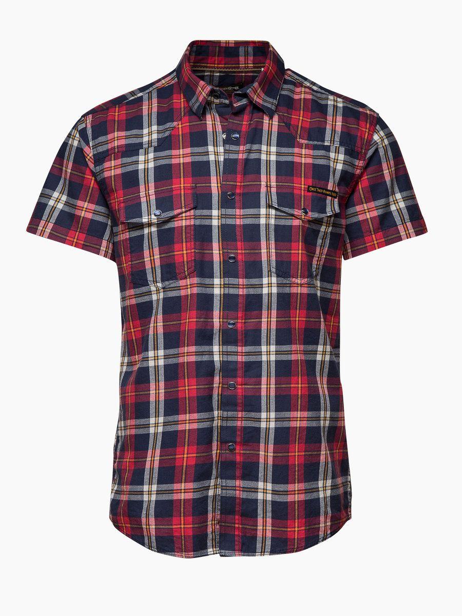 Western Dek Elmer Shirt, MOOD INDIGO, large
