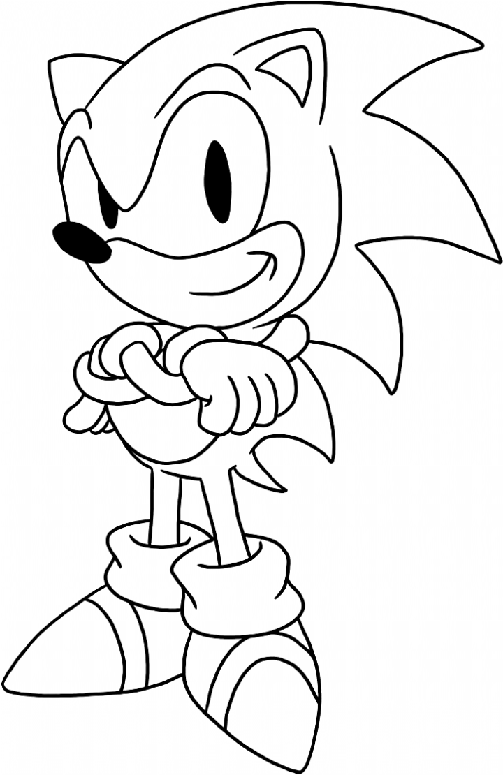 Sonic The Hedgehog Coloring Pages Here Is A Collection Of The Some Of The Best Sonic The Hedgehog Pictur In 2020 Hedgehog Colors Cartoon Coloring Pages Coloring Pages