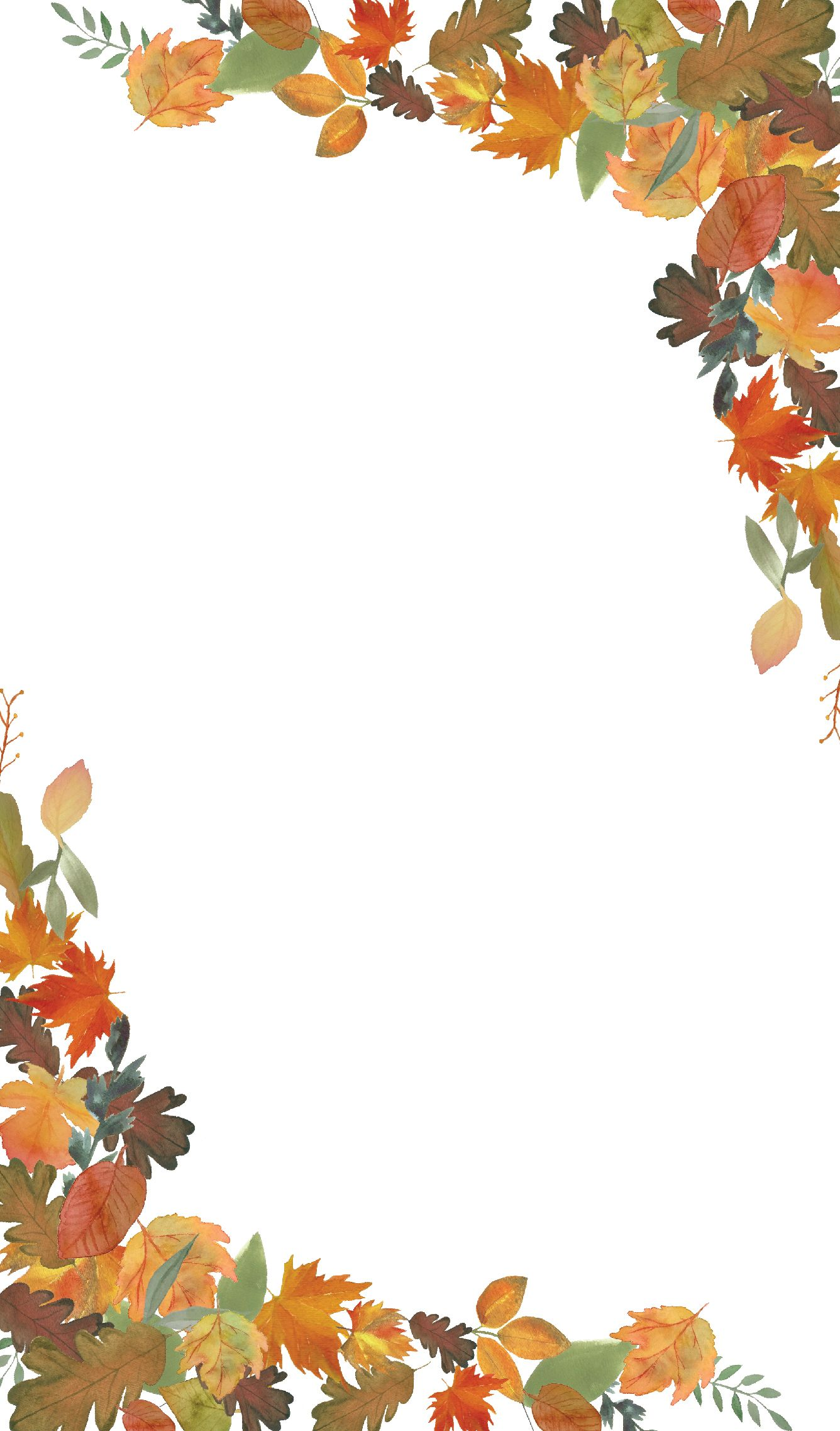 Fall Leaves Wallpaper for iPhone