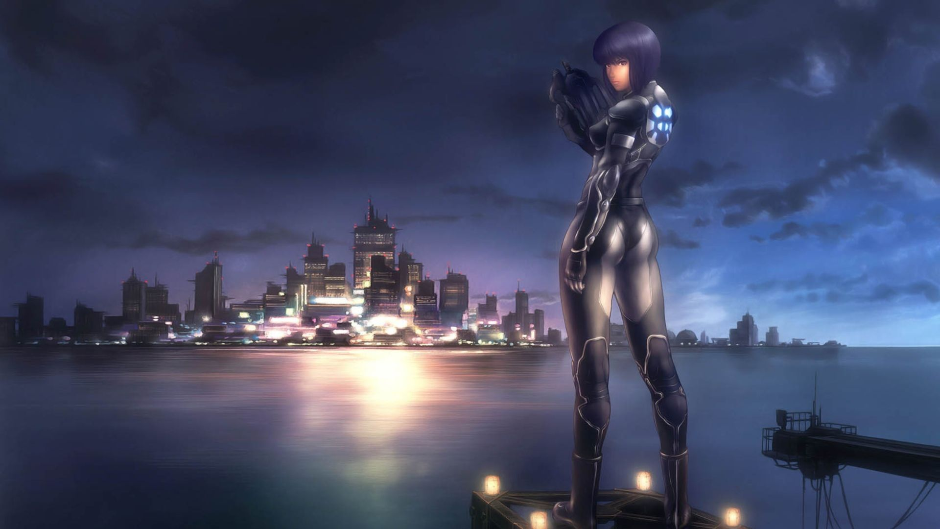 Anime 1920x1080 Motoko Kusanagi Ghost In The Shell Anime Major