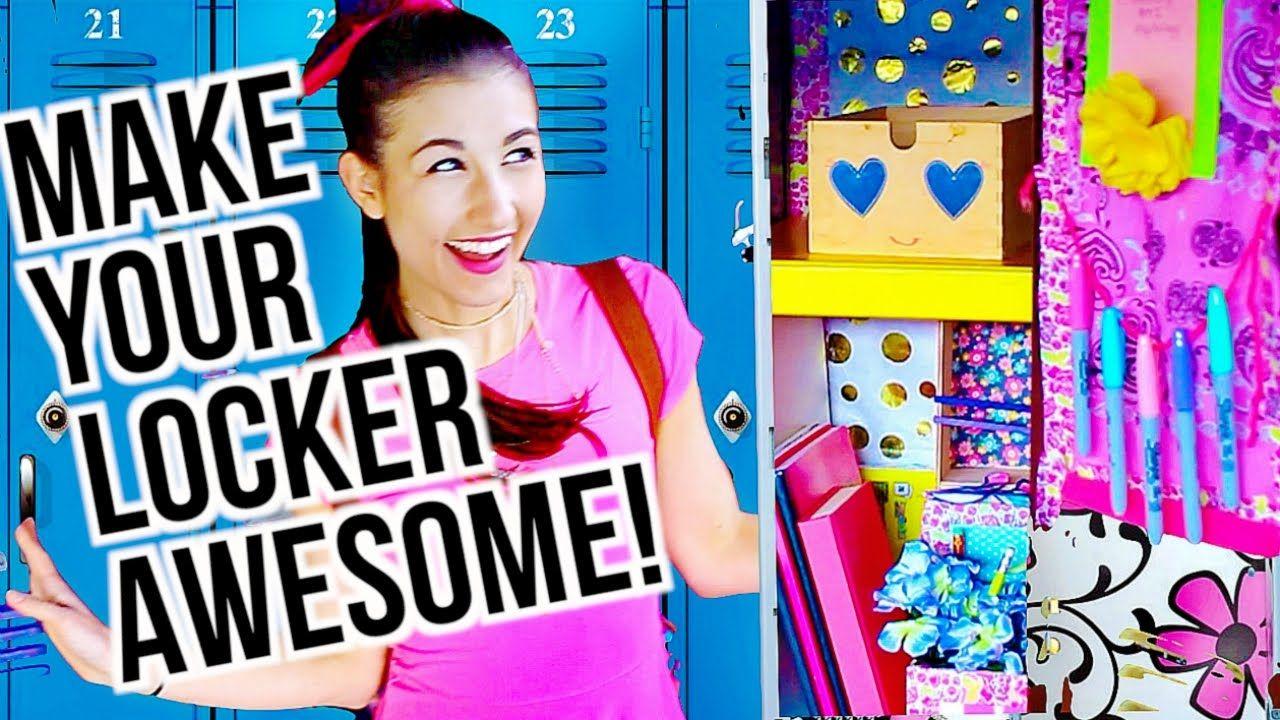 Easy DIY Locker Decor Ideas For Back To School Maybaby BACK - Cute diy school locker ideas