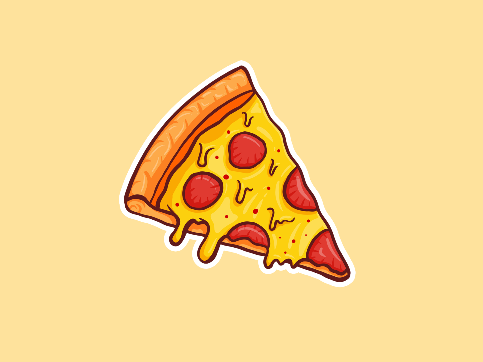 Cheezy Pizza Pizza Drawing Pizza Art Pizza Vector