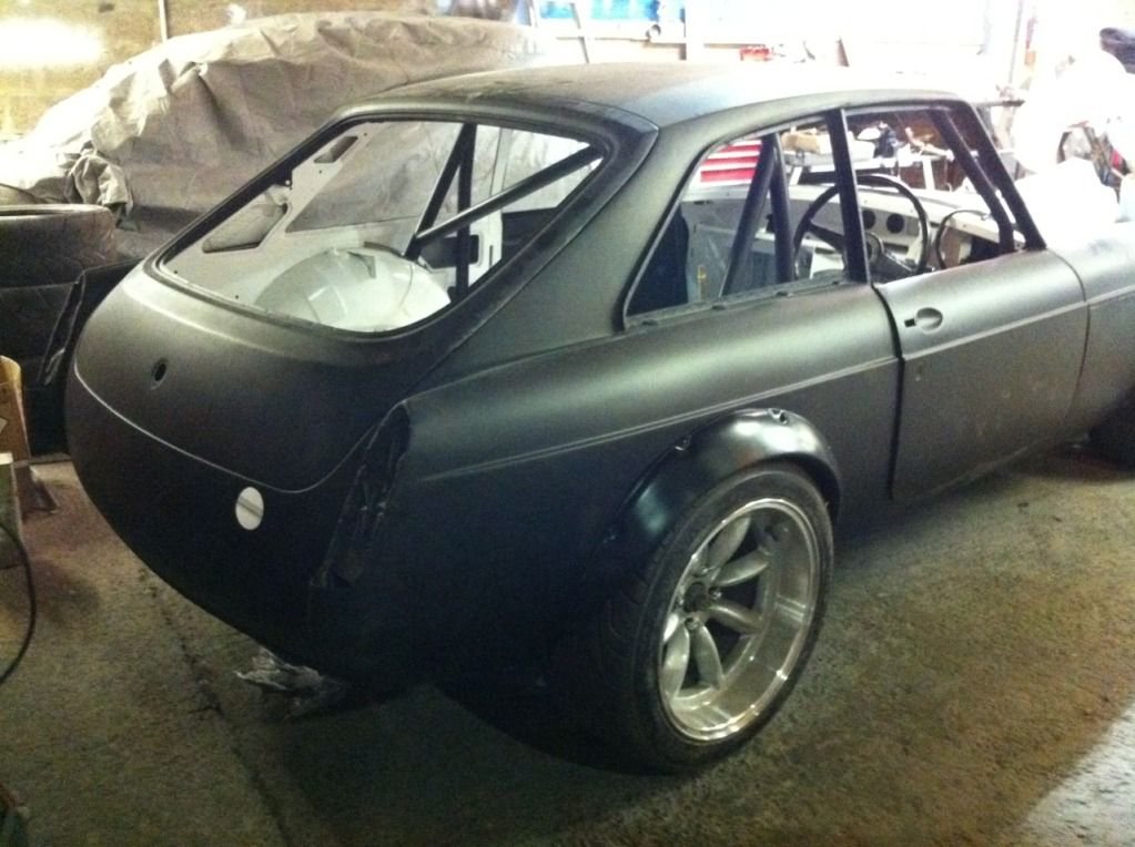 My 74 MGB GT V8 Track car project : MG Engine Swaps Forum