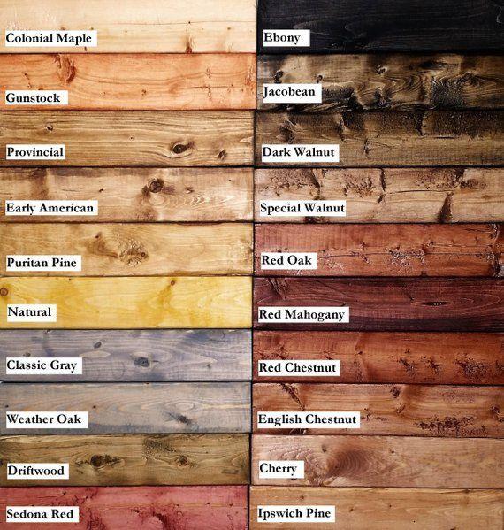 Sie Erhalten Eine Quadratische Holz Probe In Der Farbe Oder Beize