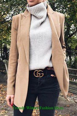 Trendy Winter Fashion Ideas #winter #outfits
