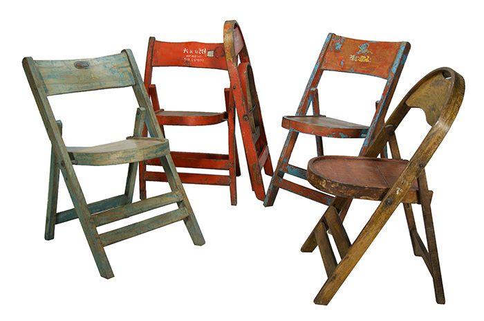 Fotos. Sillas antiguas, recuperadas. | sillas plegables | Pinterest