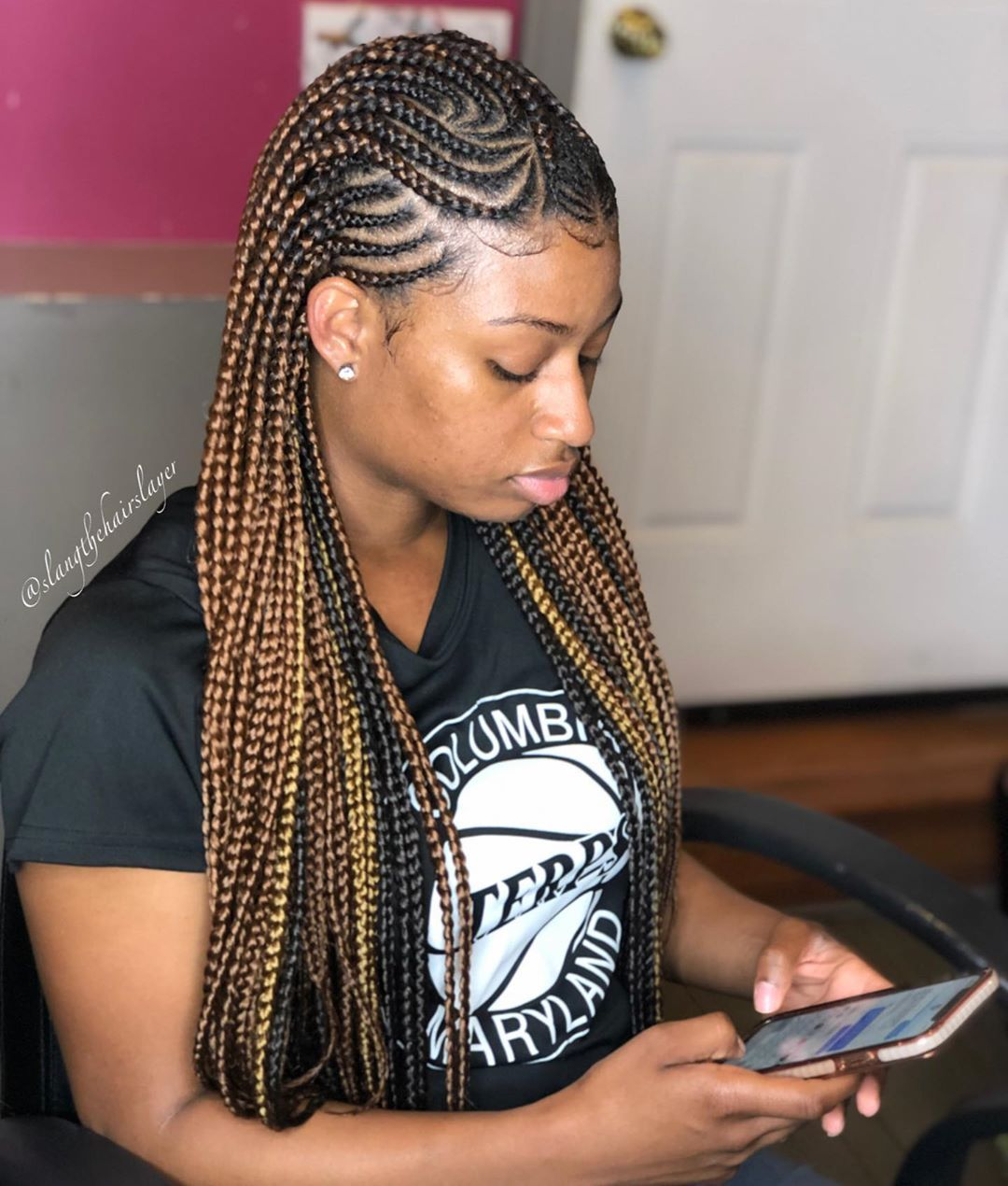New 2020 Braided Hairstyles Choose Your Favourite Braids Colour Braided Hairstyles Hair Styles Cornrow Braid Styles