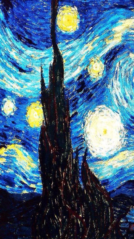 famous painting Van gogh wallpaper