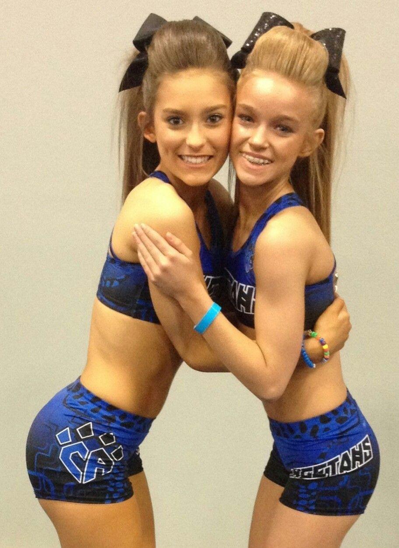 CHEER Athletics Cheetahs cheerleaders posting, embrace ...