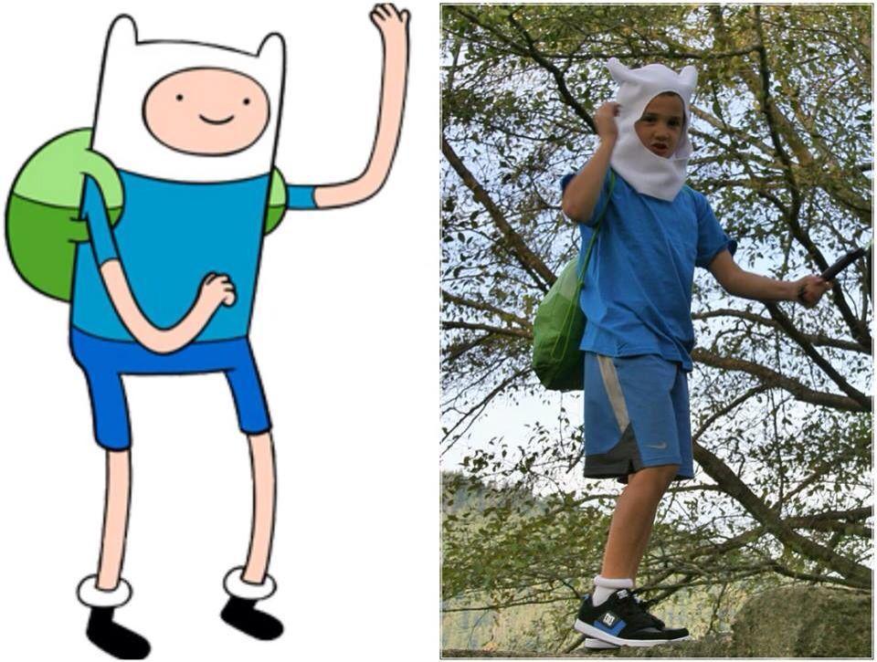 Finn The Human Cosplay Diy Costume Dress Up Handmade Boys Costume Adventure Time Cosplay Boy Costumes Marceline And Bubblegum