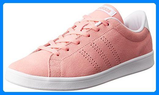 adidas Damen Advantage Clean QT W Sneaker Low Hals Pink (Rosray/Rosray/Ftwbla) 42 EU