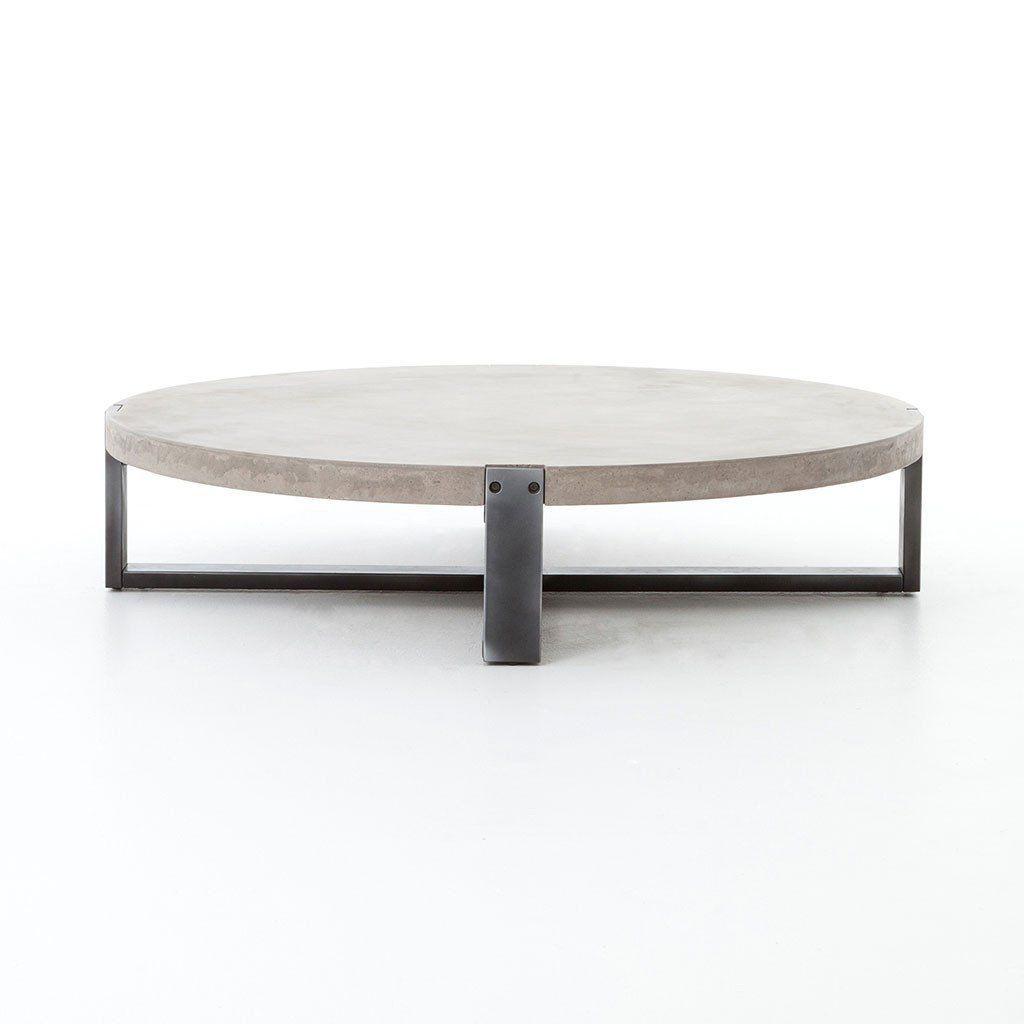 Mercury Round Concrete Coffee Table Artesanos Design Collection Coffee Table Coffee Table Farmhouse Modern Farmhouse Coffee Table [ 1024 x 1024 Pixel ]
