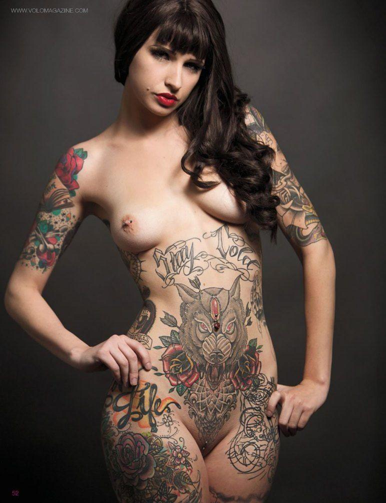 Nude Pussy Tatuointi Gif