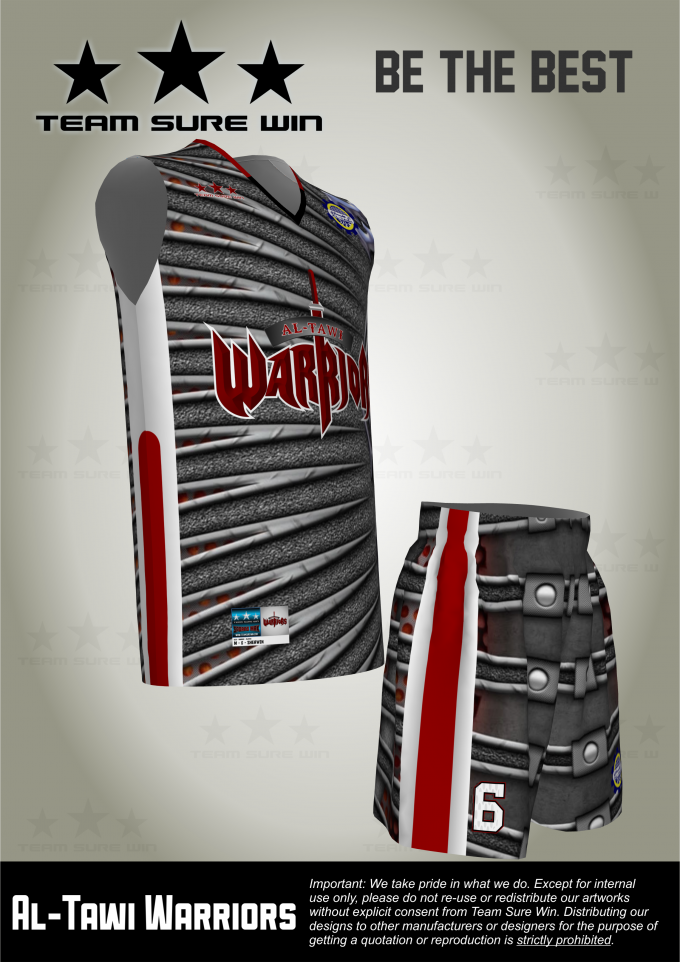 24b731878 Sublimation basketball uniforms for KSA client. Created by Team Sure Win.
