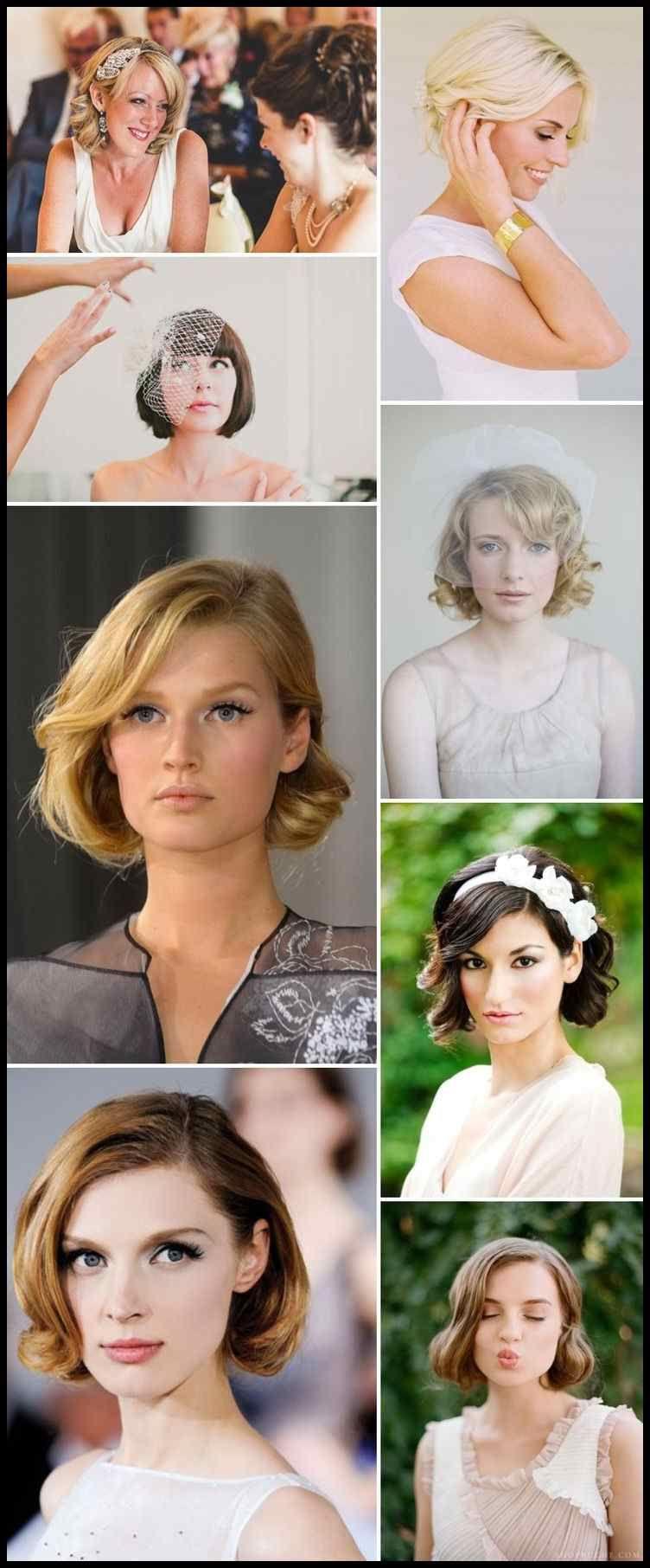 8 hochzeit frisur ideen für mittlere haare - frisuren